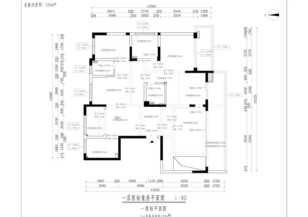 大公馆294平跃层雅致主义设计装修效果图装修设计理念