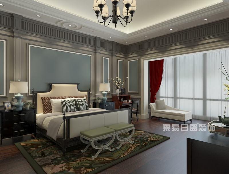 东易日盛装饰:别墅卧室装修效果图