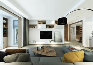 142㎡ 简约风原木色三居室,简单实用又通透大方