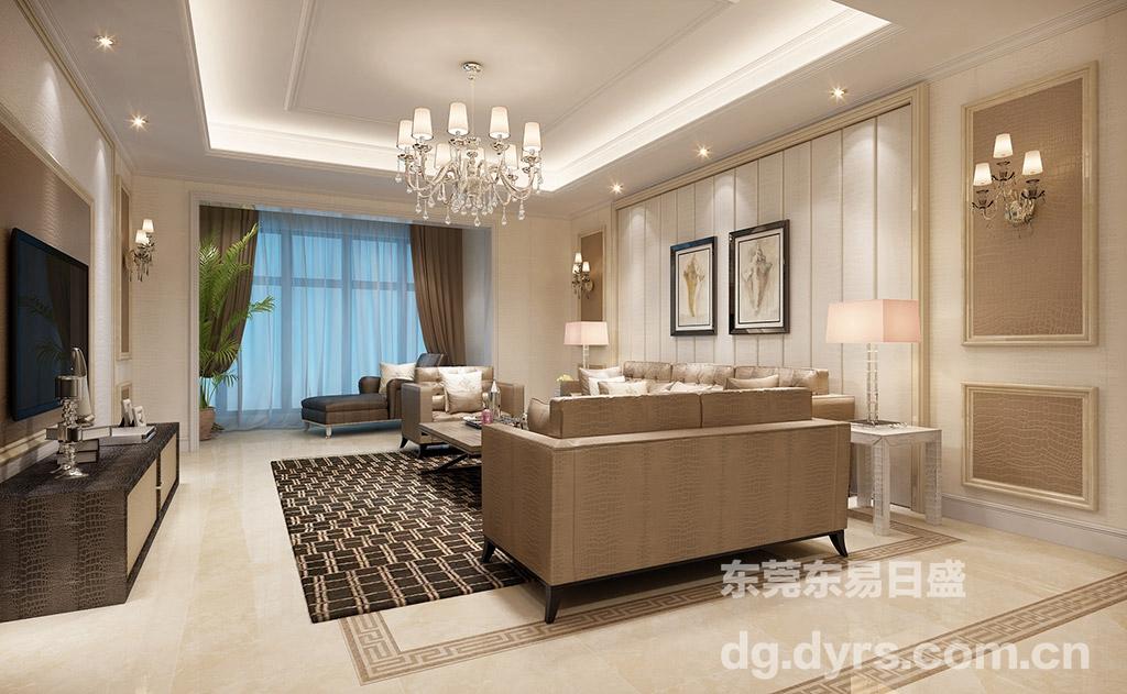 看东莞装饰公司混搭风格卧室装修设计