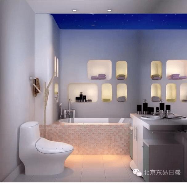 北京总部旗舰店-浴室细节效果图
