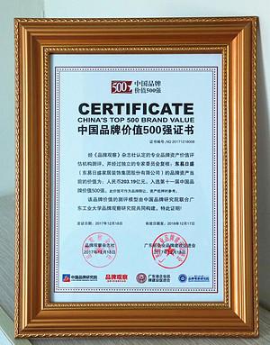 2017年东易日盛品牌价值203.19亿,轻松保持装修行业第一!