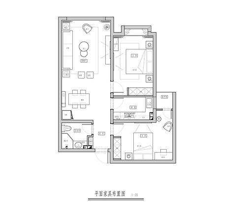 江南城-(2室)-150平米-现代美式装修设计理念