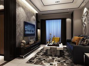黑色家具配什么颜色窗帘?