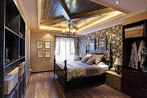 打破常规装饰布置异型的卧室