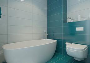 卫生间浴室如何选用玻璃隔断