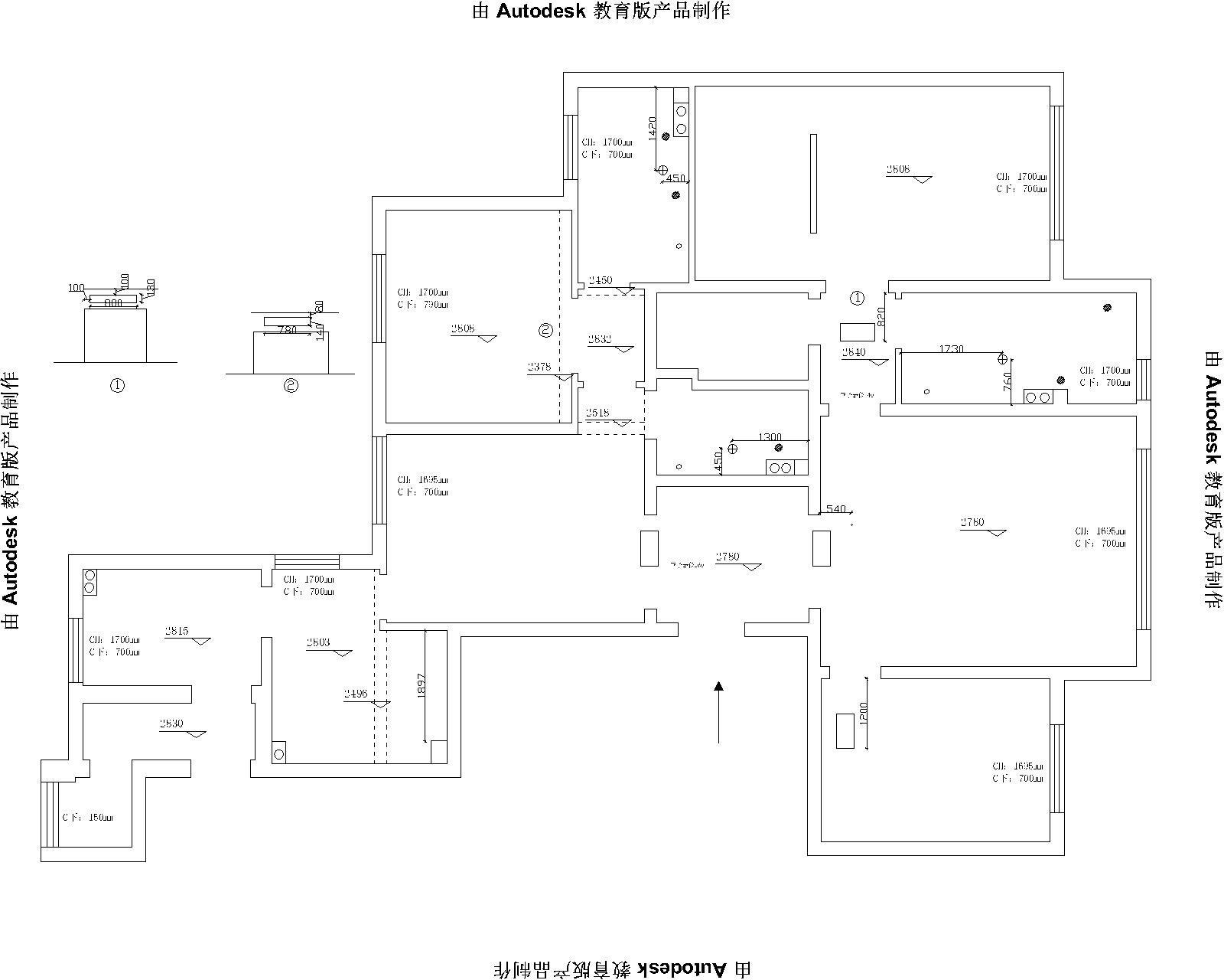 旺海公府-欧式风格-190平米装修设计理念