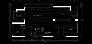 家居装修平面尺寸图,这种施工图要注意什么??
