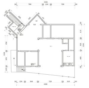 青竹园枕云苑1100平米别墅户型解析
