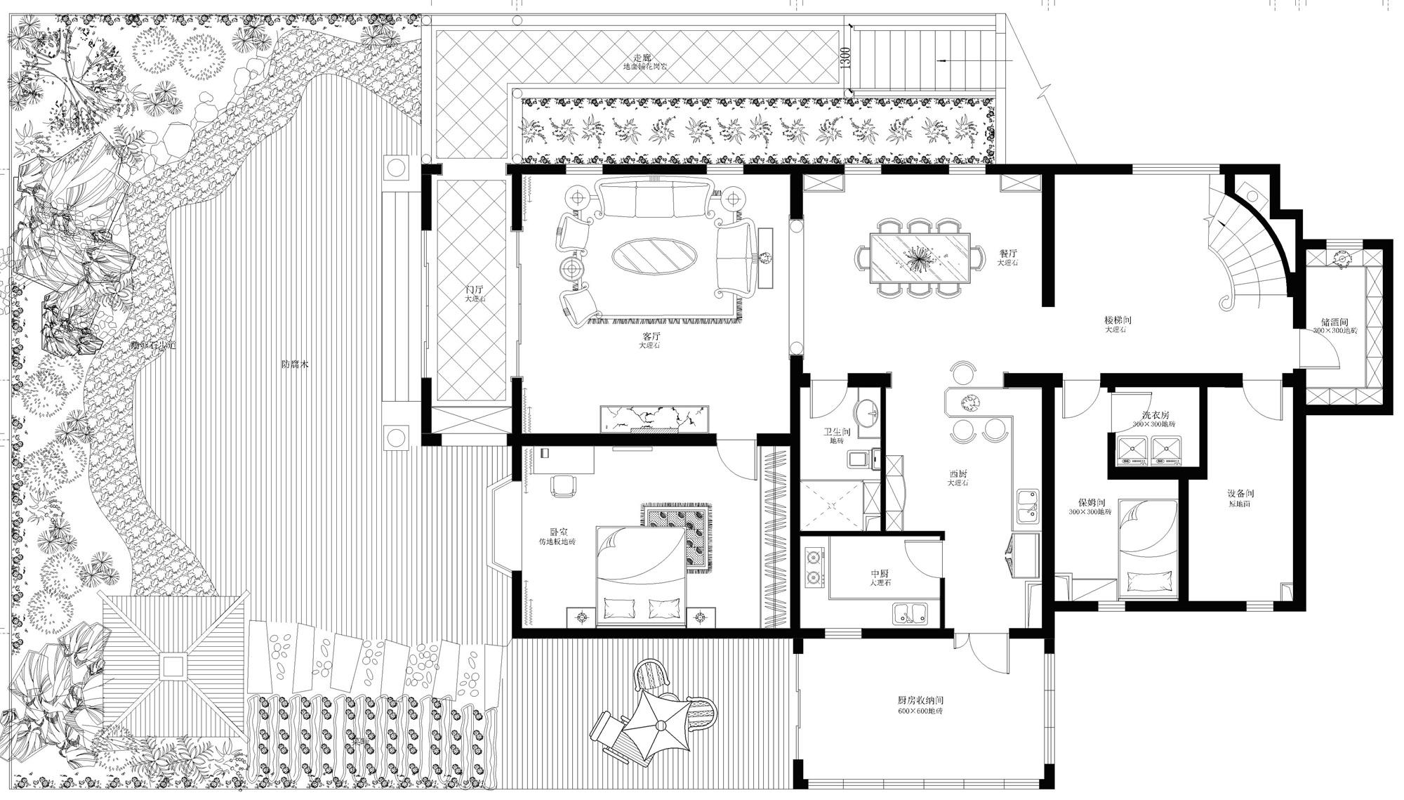 珠江一千栋 新古典 460平米装修设计理念