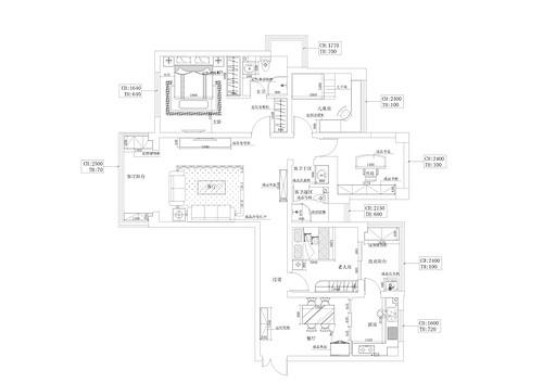 正弘山现代简约120平平层装修设计理念