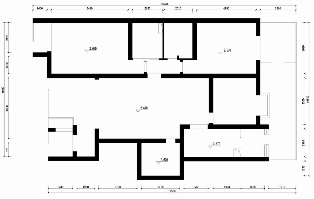 万科青青家园-中式-160平米装修设计理念