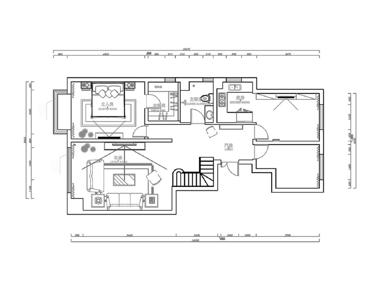 碧景华庭-欧式风格-180平米装修设计理念
