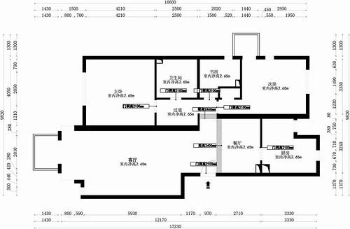 狮城百丽-地中海-130平米装修设计理念