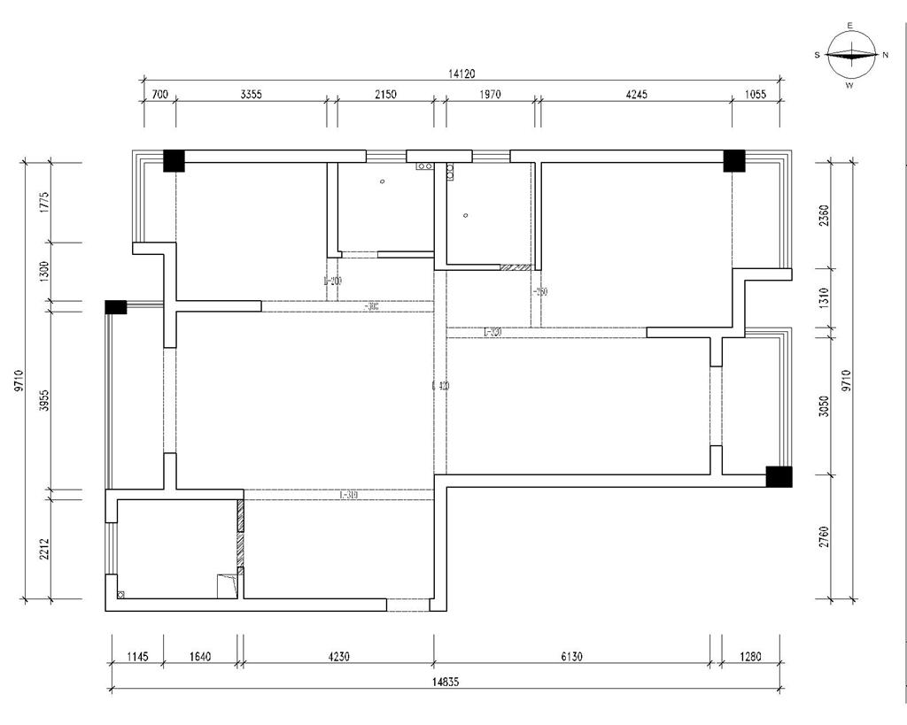 高科荣域 现代简约 138平米装修设计理念