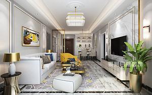东易日盛最新别墅装修效果图,让你独享精致简约生活