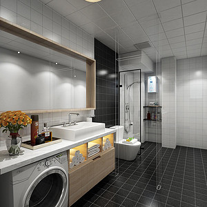 干净卫生好用的厕所洗手间装修施工离不开这四点