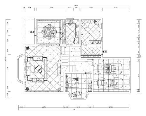 丰庄别墅简欧风格400平装修设计理念