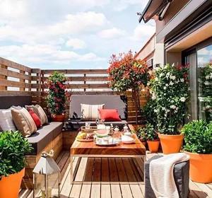 阳台如何装饰成花园