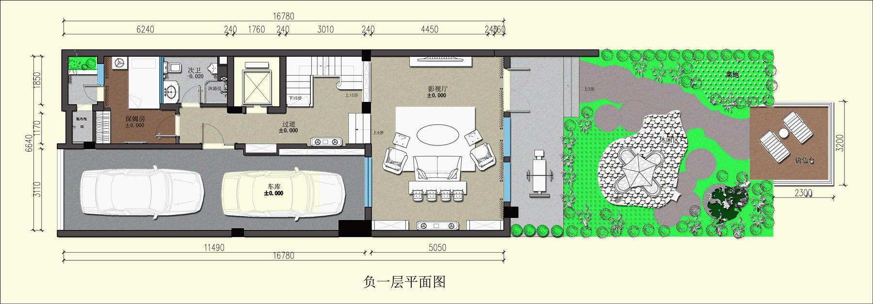 华侨城东岸450㎡别墅欧式古典风格装修效果图装修设计理念