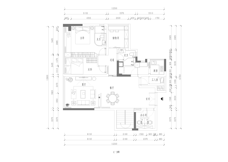 香山美墅 新古典风格 250平米 三室两厅装修装修设计理念