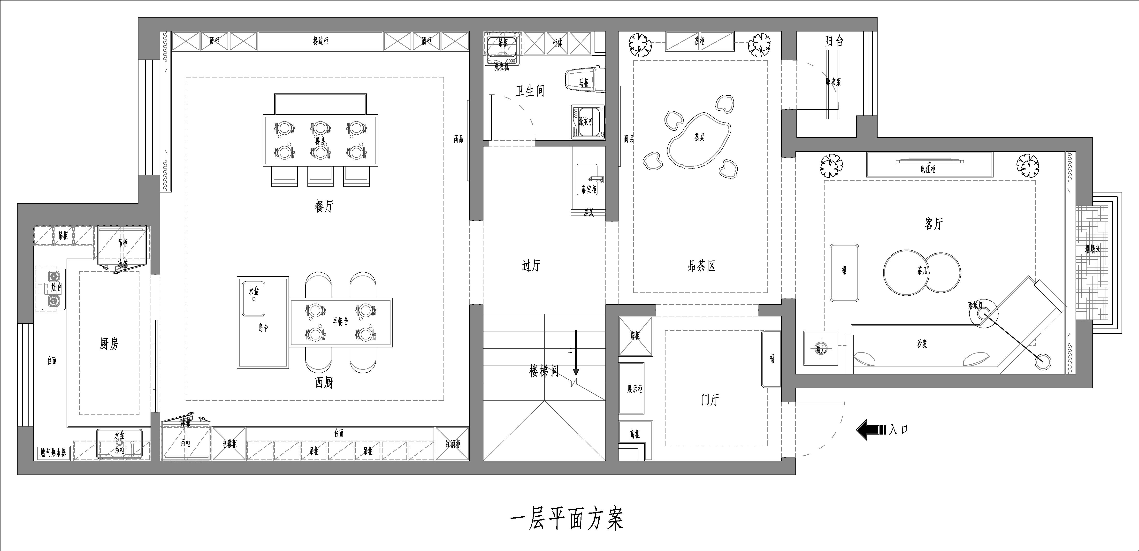 霸州金享世家-277.85平米-现代轻奢装修设计理念