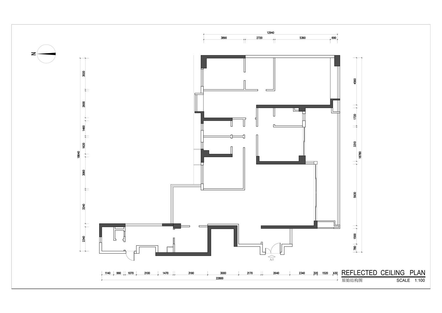 锦绣花园-中式风格案例-280平米四居室装修效果图装修设计理念