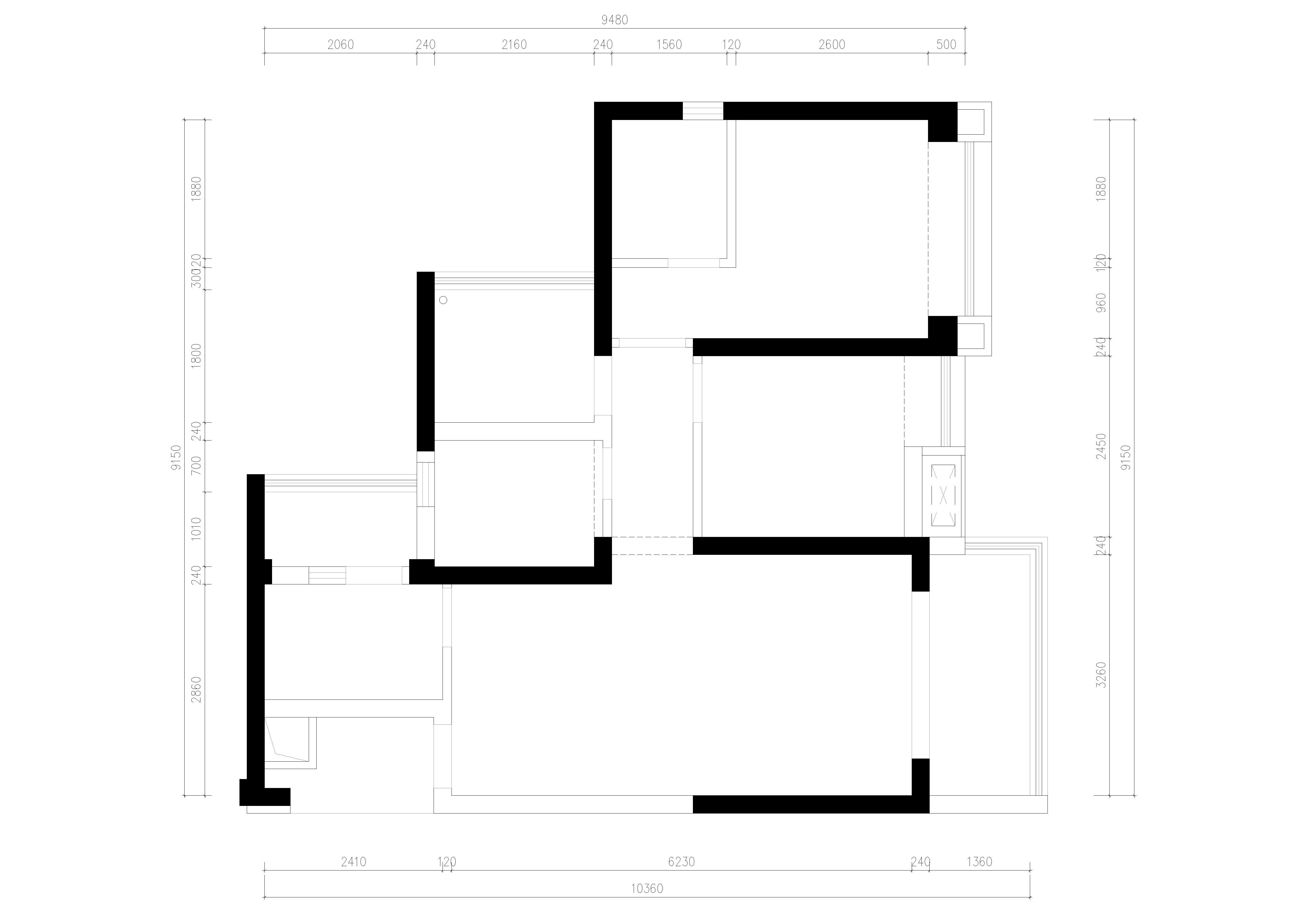 半山悦海-现代简约风格-89㎡装修效果图装修设计理念