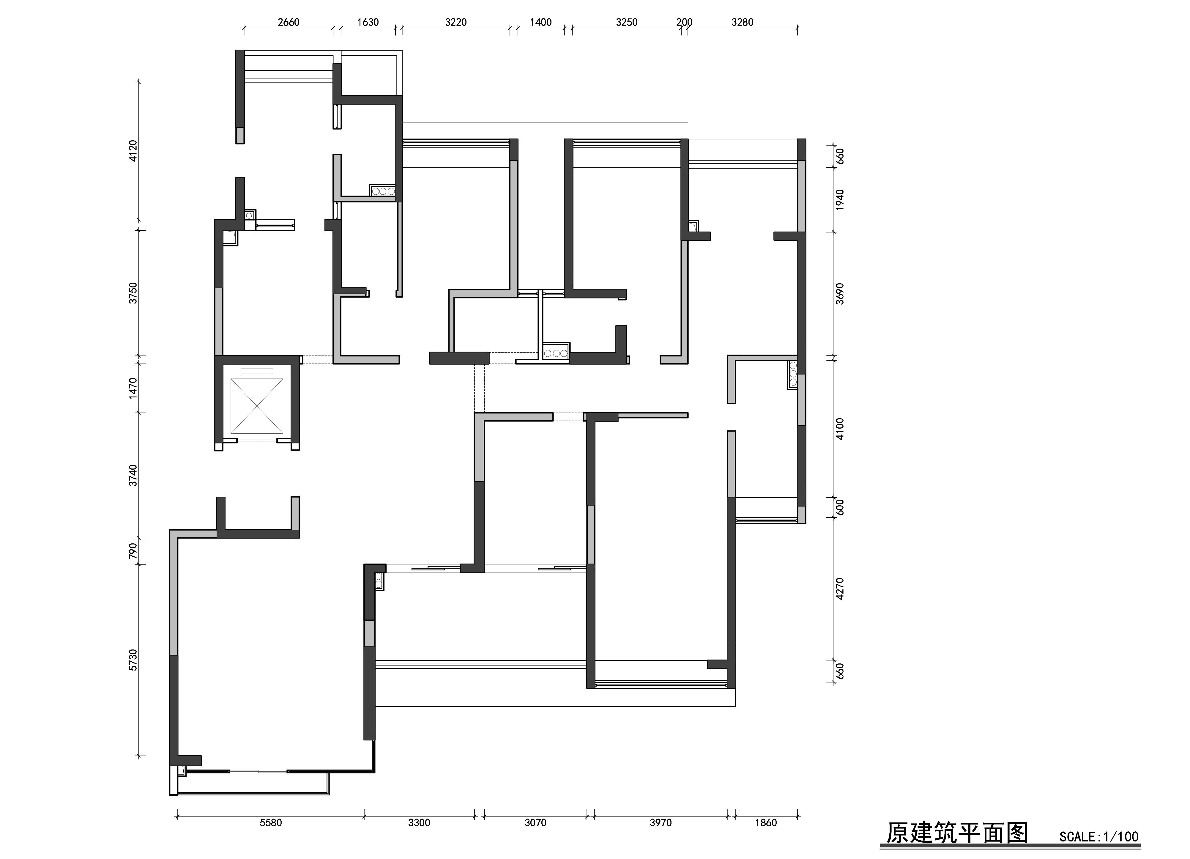 美的广场255m/2现代中式案例成果装潢策划愿景