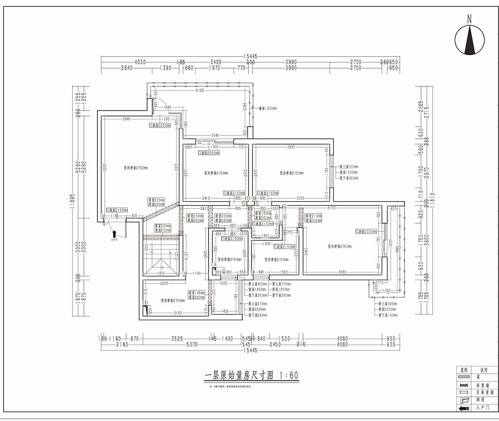 蔚蓝观园 简美装修效果图 复室 170㎡装修设计理念