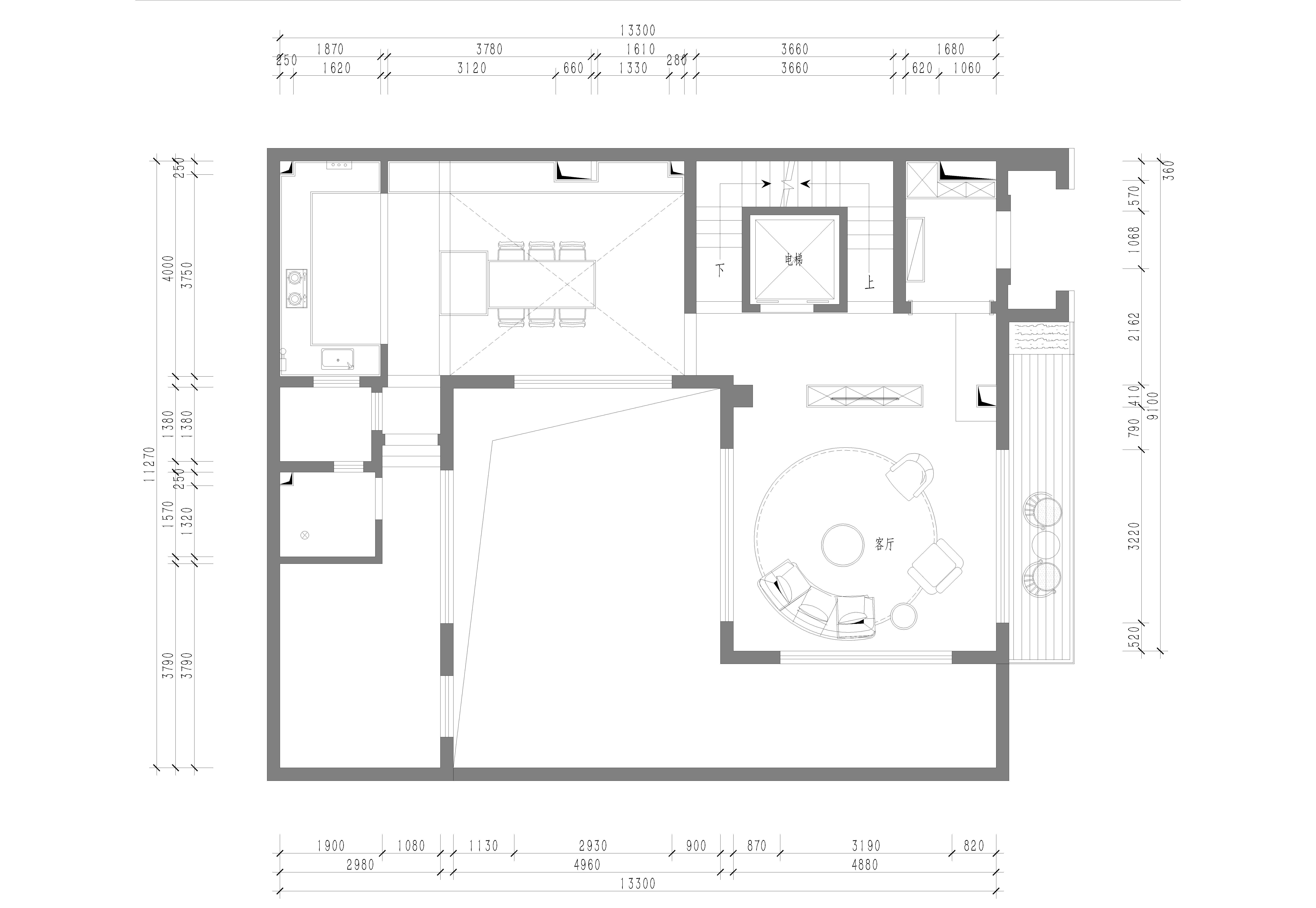 北京院子-500平米-新中式-装修效果图装修设计理念