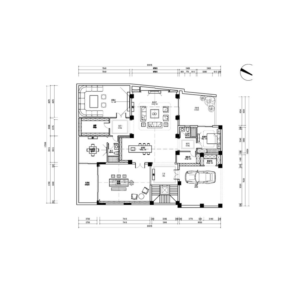 浅水湾692㎡别墅欧式风格装修设计理念