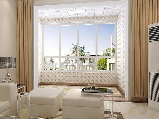 阳台墙面贴砖攻略,选对瓷砖很重要