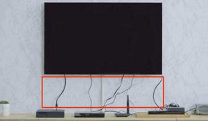 电视墙电线插座变成一团怎么处理 有什么收纳技巧