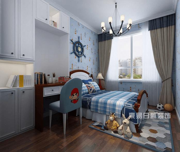 8平米儿童房装修效果图 男孩儿童房 儿童房榻榻米