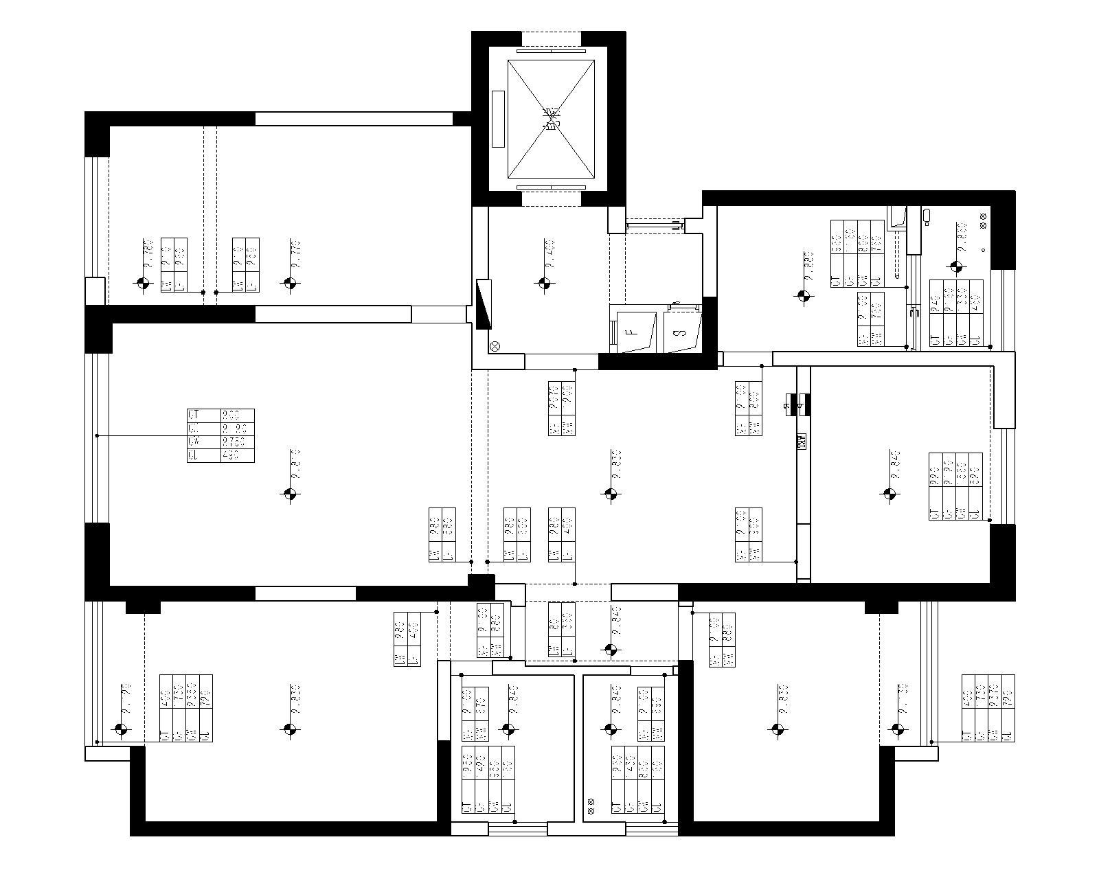 昆明海埂悦府160平米四居室现代简约风格装修效果图装修设计理念