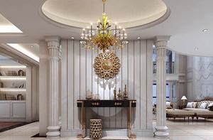 重庆高端家装公司提醒您,客厅灯饰装饰注意要点