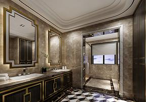 别墅装修公司 怎样清洁卫生间瓷砖