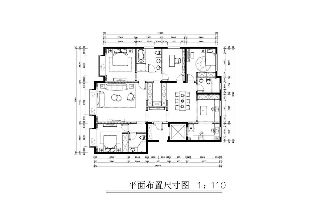 中国玺-时尚都市-198㎡装修设计理念