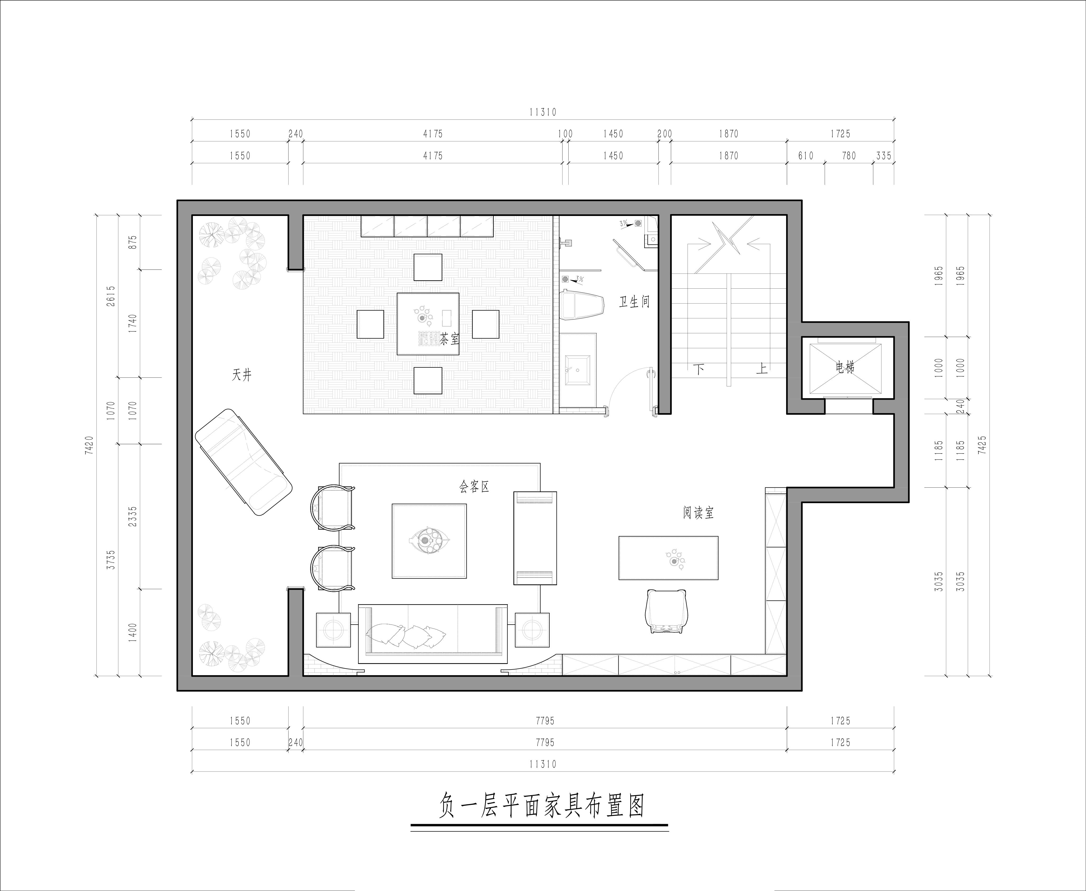 龙樾华府-新中式-316㎡装修设计理念