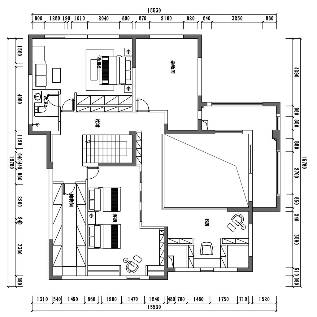 昆明九夏云水跃层450平米东南亚风格装修案列装修设计理念