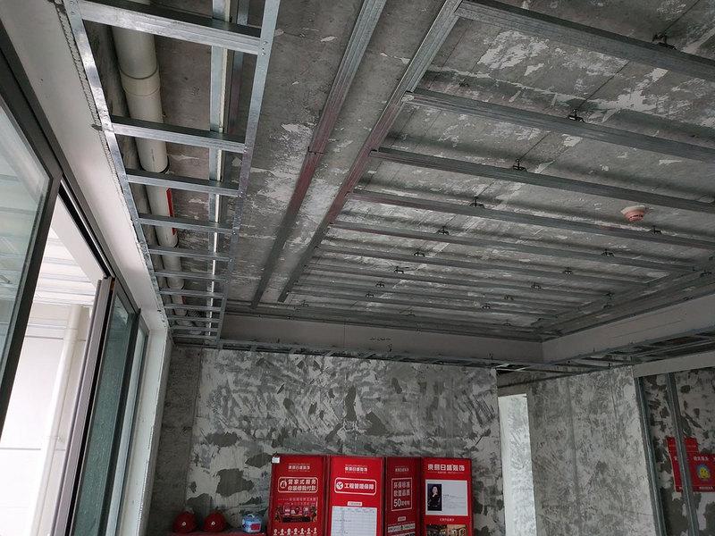 东易日盛轻钢龙骨吊顶施工工艺标准工艺流程