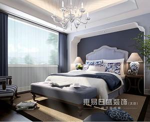 一个卧室,床就是很好的装饰!--太原东易日盛搜集整理