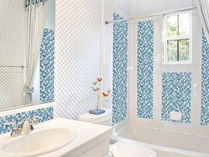 马赛克瓷砖背景墙,新型种类的装修材料
