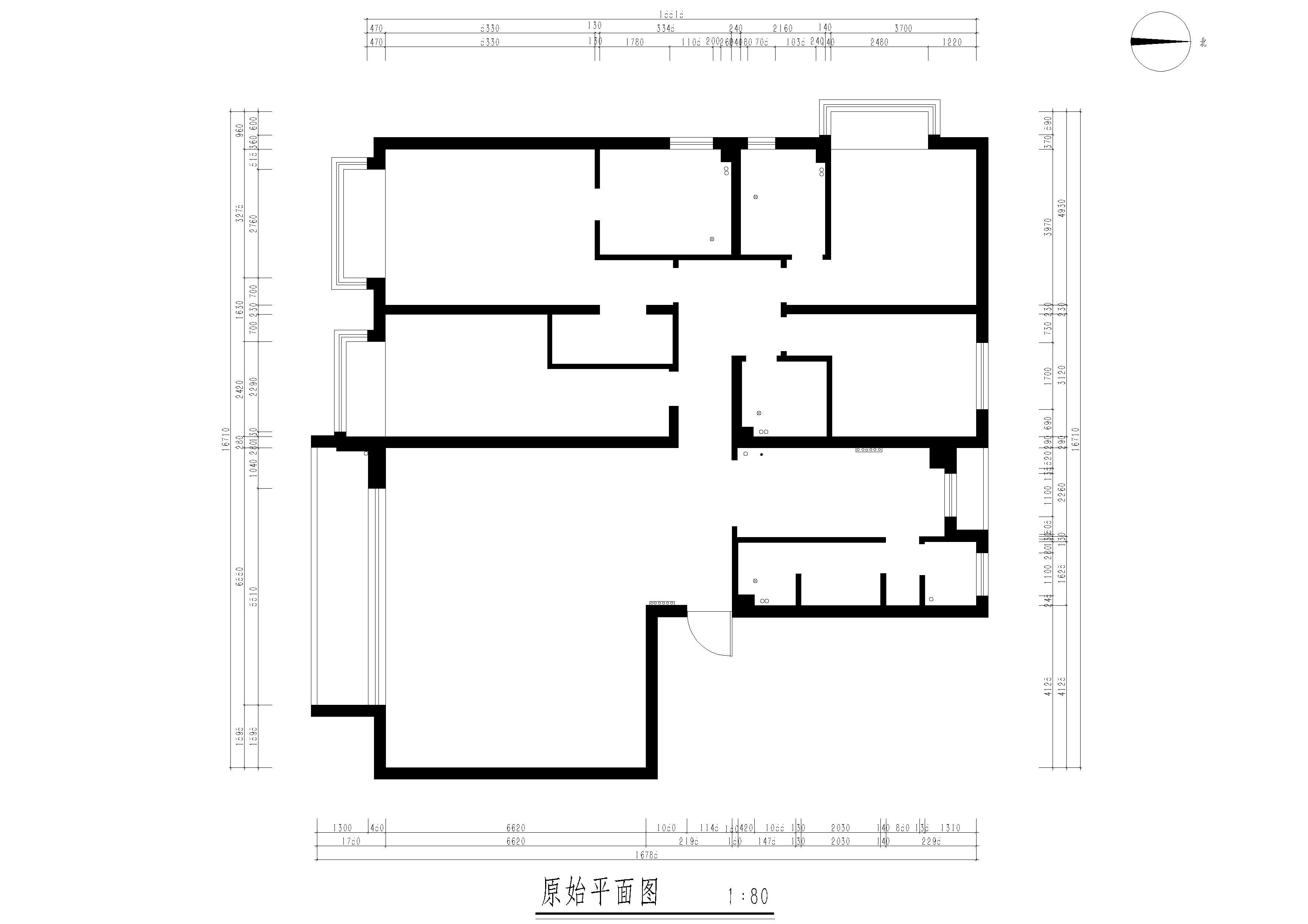 尚景新世界260平法式风格效果图装修设计理念