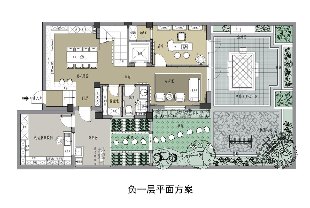 帝景天誉-202平-新中式风格装修设计理念