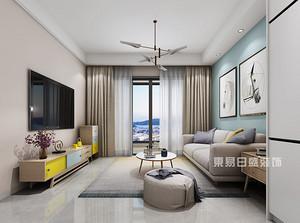 【深圳室内装修】80平米装修设计风格,精致的北欧极简风