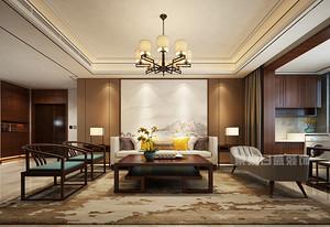 深圳152平米中式风格装修效果图,畅享古典悠然生活