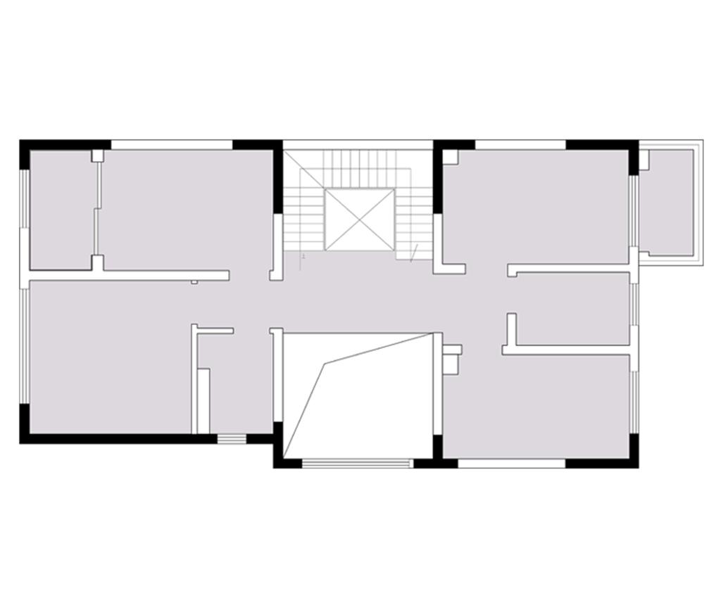 昆明华夏天璟湾560平米别墅新中式风格装修效果图装修设计理念