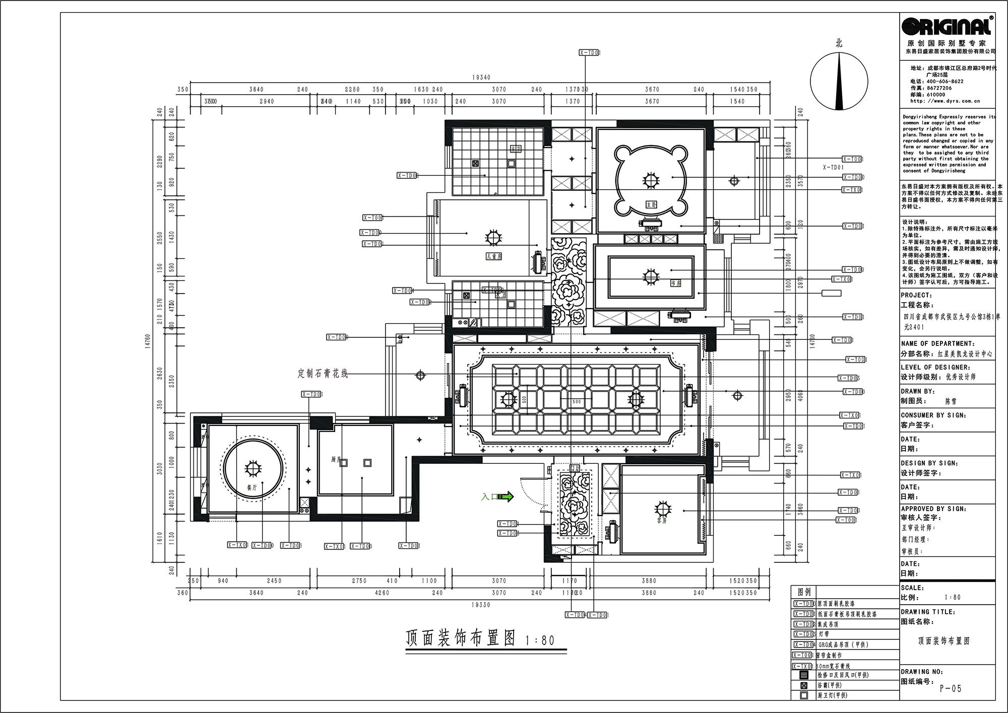 九号公馆170㎡新古典风格装修效果图装修设计理念